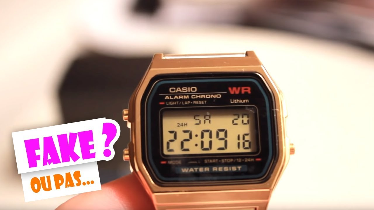 casio gold watch vintage wr a159wgea review youtube. Black Bedroom Furniture Sets. Home Design Ideas