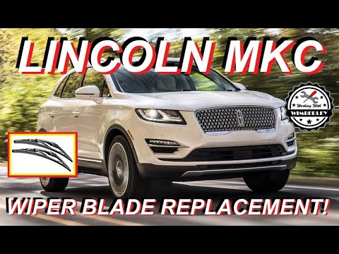 How To Replace Windshield Wiper Blades On Lincoln MKC 2015-2019 Change, Replace Install Ford Escape