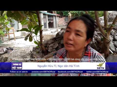 """28/07/16 - PHÓNG SỰ VIỆT NAM: Người dân Hà Tĩnh: """"Tôi không tha thứ, Formosa phải rời khỏi Việt Nam"""""""
