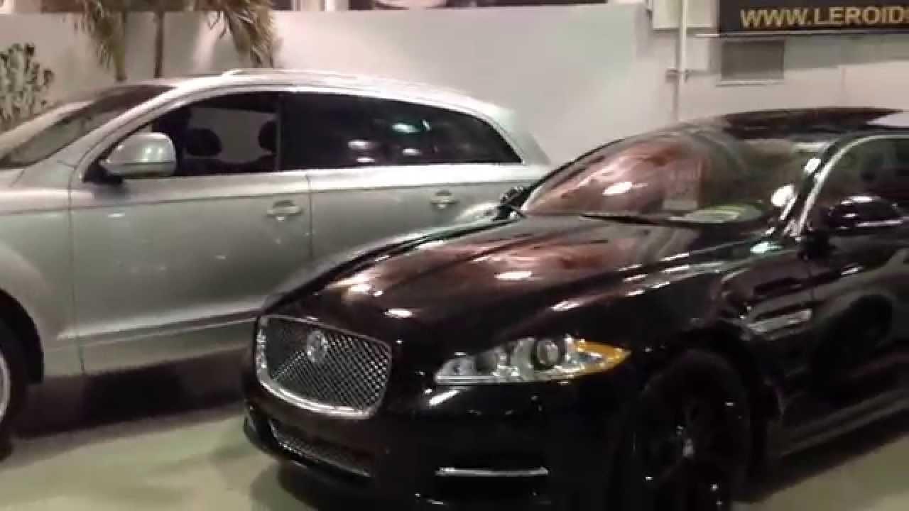 All Black Jaguar Xj L Youtube