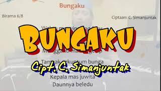 Bungaku - Cipt. C. Simanjuntak (Karaoke/Lyric/Minus one)