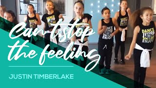 Can't stop the feeling - Justin Timberlake - Kids Easy Fitness Dance Video - Choreography