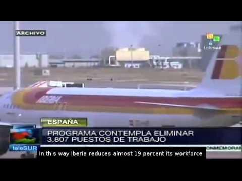 Spanish airline Iberia to cut nearly 4,000 jobs
