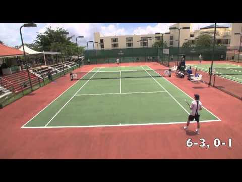 Pat ATP point 4 vs Colin in Guam June 2013