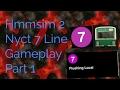 Nyct 7 line part 1 Gameplay Hmmsim 2