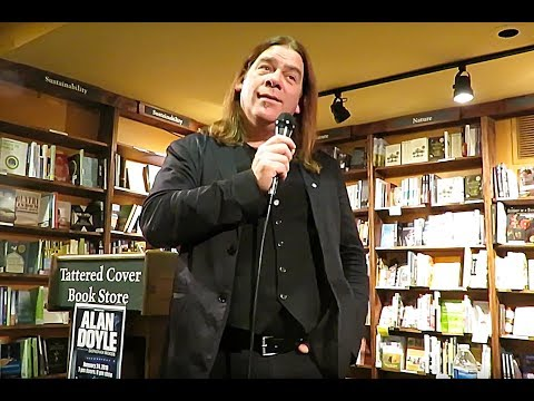 "Alan Doyle, Stories & Songs, ""A Newfoundlander In Canada"" Book Tour, Tattered Cover, Denver"