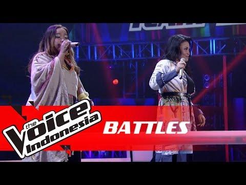 Anggreiny Vs Eunice - Cinta (G.A.C)   Battles   The Voice Indonesia GTV 2018