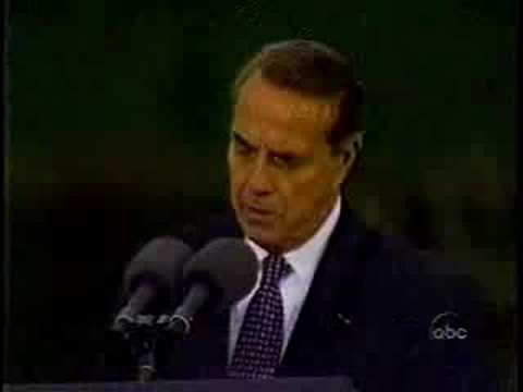 Richard Nixon Funeral (4): Bob Dole's Eulogy