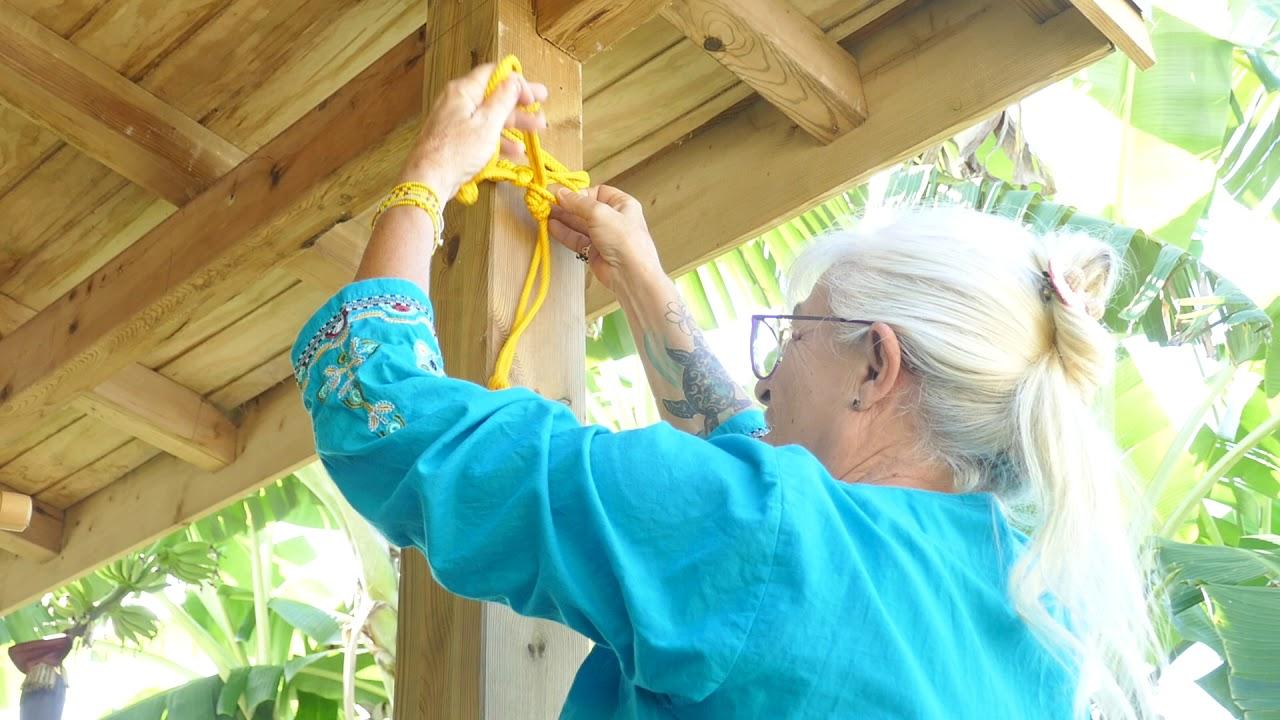 Comment Installer Un Hamac Sans Arbre comment attacher facilement un hamac à un poteau ou un arbre