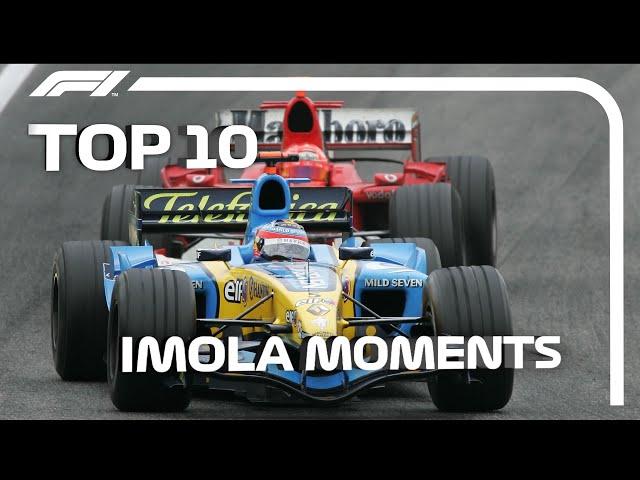 Top 10 Imola Moments