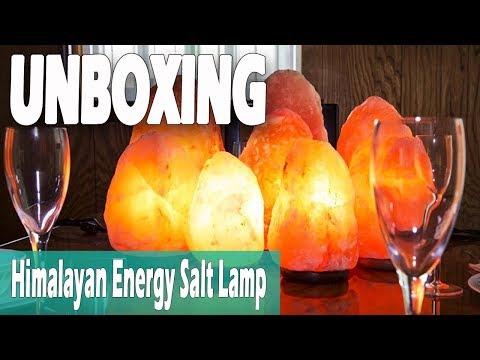 Himalayan Energy Salt Lamp   Lazada Philippines Unboxing