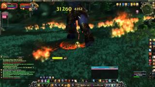 Soloing Archimonde (last boss in Hyjal) - WoW