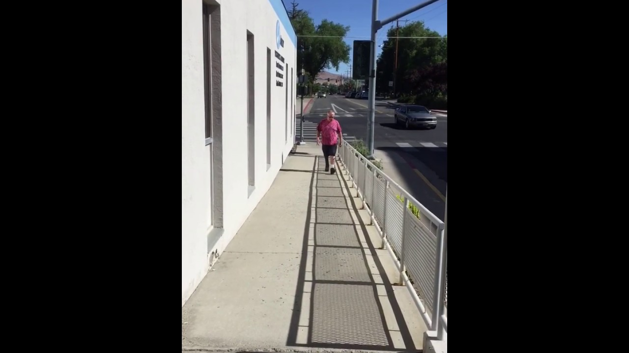 Walking Up and Down Ramp