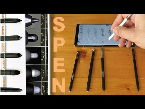 Samsung Galaxy Note 8 S-Pen Evolution