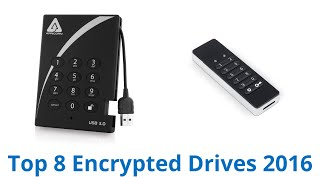 8 Best Encrypted Drives 2016
