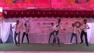 Kalla, fandry , haravli pakhre Marathi song dance in COCSIT gathering 2014 by FriendsForever group