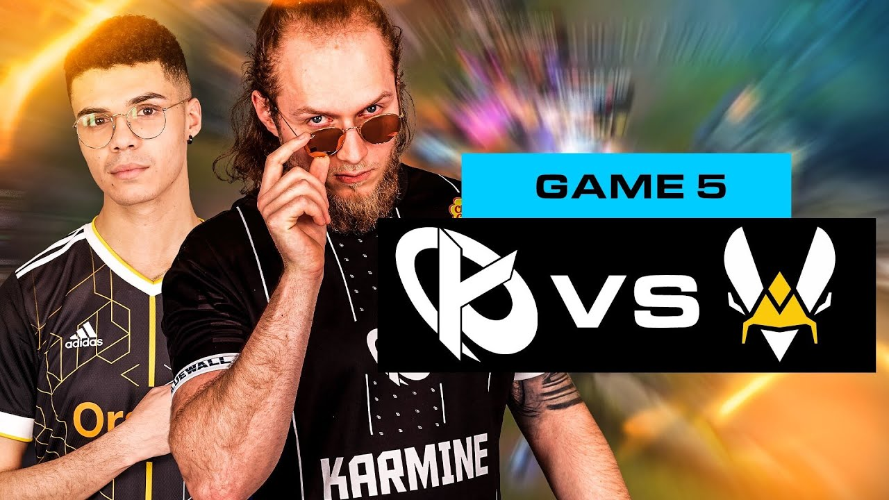 Download KARMINE CORP vs VITALITY.BEE - UN REVERSE SWEEP REALISABLE ? [GAME 5]