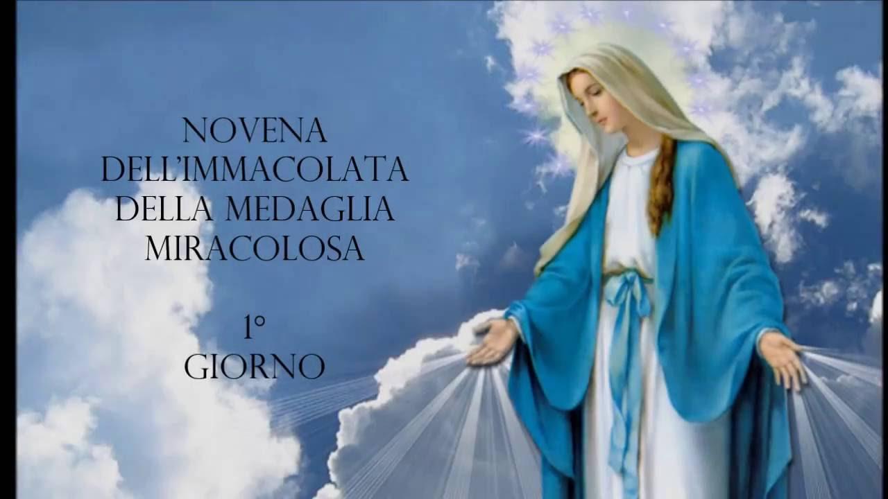 Novena De Nossa Senhora Aparecida: Novena Dell'Immacolata Della Medaglia Miracolosa 1° Giorno
