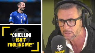 """""""CHIELLINI ISN'T FOOLING ME!"""" Martin Keown is confident England's attack can exploit Italy's defence"""