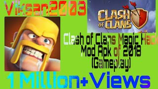 Clash of clans mod apk of clash of magic 2018 server1