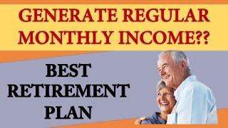 Best retirement plan   Best plan for retirement to get regular income  