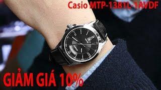 Mở hộp Đồng hồ Casio MTP-1381L-1AVDF chính hng tại Shopwatch.vn