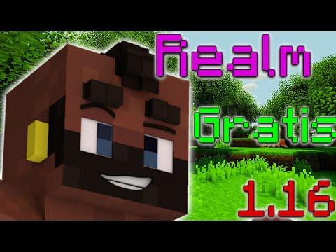 Como tener un Realm Gratis en Minecraft Bedrock 1.16 from YouTube · Duration:  3 minutes 18 seconds
