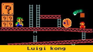 If Luigi Take Donkey kong place VS Mario