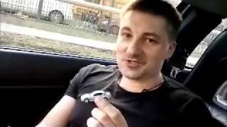 Безопасный проезд лежачего полицейского(В этом видео Александр Каминский показывает, как проезжать дорожные неровности, в частности,