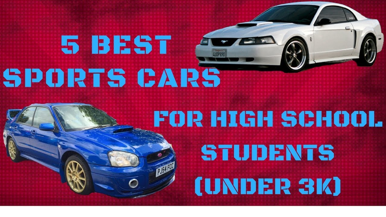 5 best sports cars for high school students under 3k youtube. Black Bedroom Furniture Sets. Home Design Ideas
