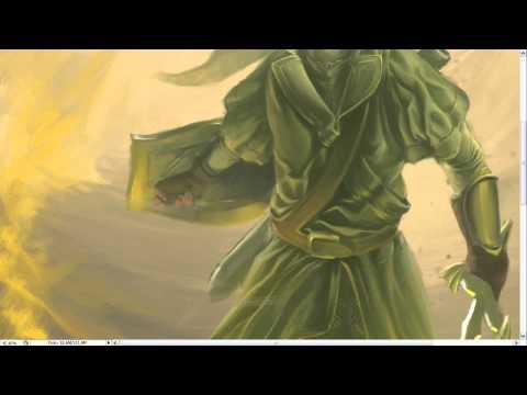 Timelapse Digital Painting - Link Tribute