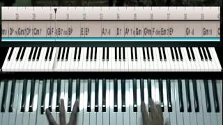 Уроки игры на фортепиано - (Джаз) Autumn leaves Free improvisation