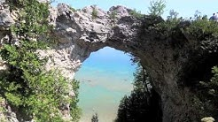 Visit to Mackinac Island, Michigan.