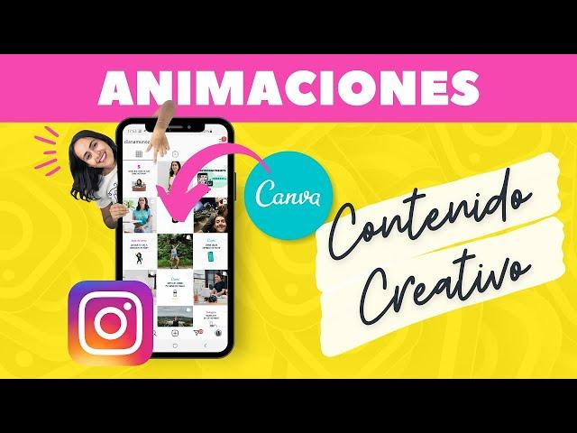 Cómo poner Animaciones sobre una Foto en Canva (Fácil & Rápido) | Aprende Canva con Diana Muñoz