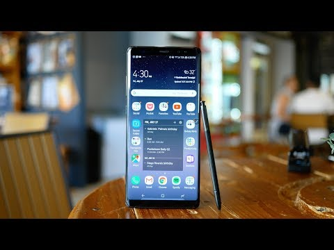Samsung Galaxy Note8 Review Videos