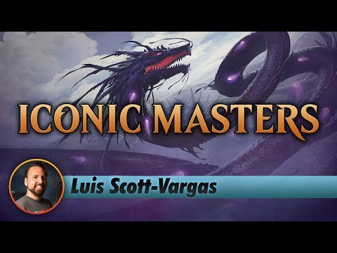 Channel LSV - Iconic Masters Draft #2 (Deck Tech & Matches)