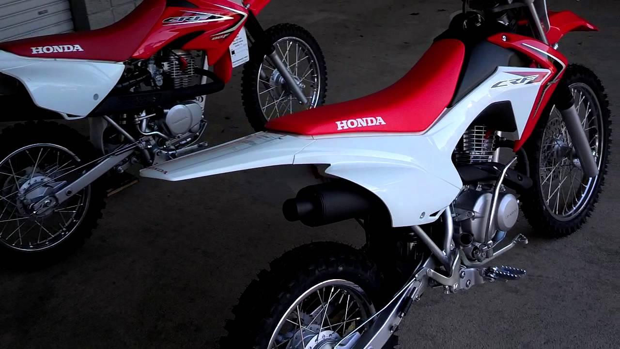2014 Honda CRF125F vs CRF80F // 2014 Honda CRF Dirt Bike SALE Prices Honda  of Chattanooga TN
