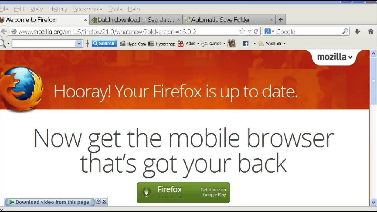 How to Batch Download in Firefox : Chrome & Firefox Tips