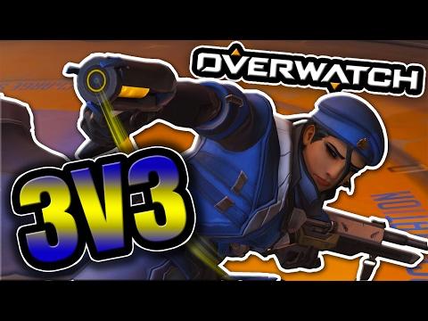 Overwatch 3V3 | No Cooldowns Custom Game! w/ Vikkstar, Kay, Quiff, Shotgun & GhostPants
