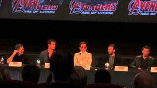 AVENGERS: AGE OF ULTRON Press Conference In Full
