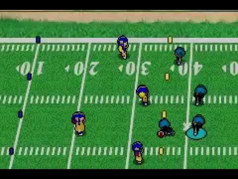 Backyard Football 2002 Gameplay 1st half