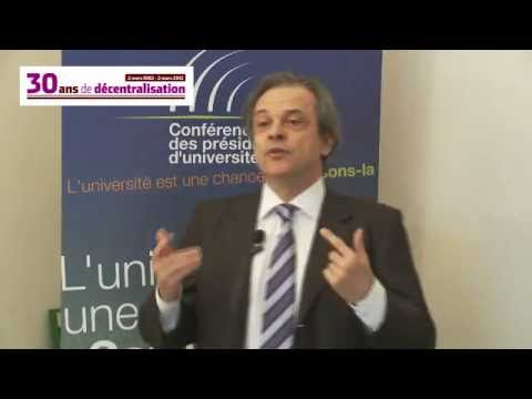 Louis Vogel, président de la conférence des présidents d'universités