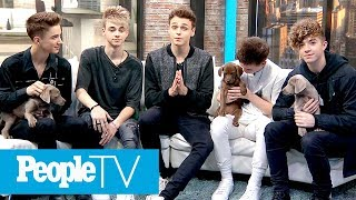 Why Don't We Surprised With Puppies, Talk Jake Paul, What They Look For In A Girl & More | PeopleTV