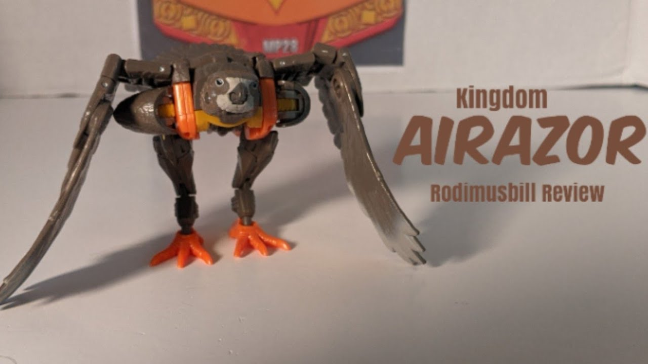 Kingdom Deluxe Airazor War For Cybertron Review by Rodimusbill