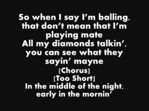 Wiz Khalifa Ft Too $hort - On My Level (Lyrics)