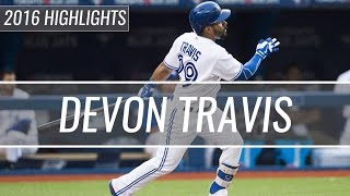 Devon Travis   Toronto Blue Jays   2016 Highlight Mix Hd