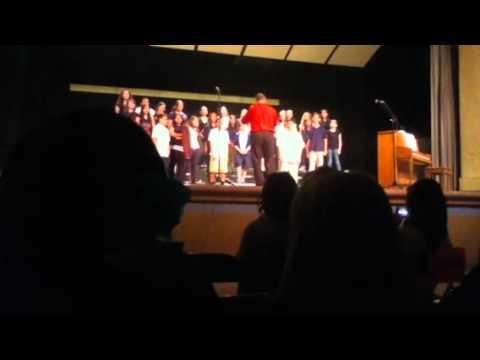 Mansfeld Middle School chorus 2011