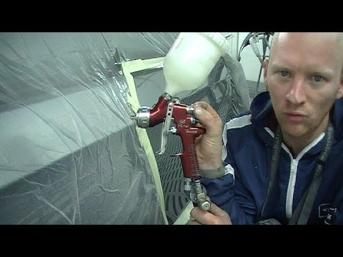 how to spray clear coat