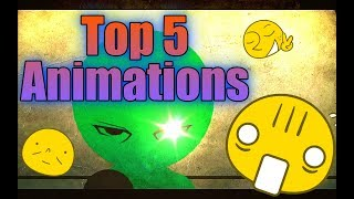 Stick Nodes || Top 5 Animations