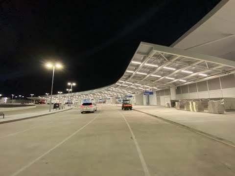 NEW ORLEANS AIRPORT NEW TERMINAL FIRST DAY   NOV 6, 2019